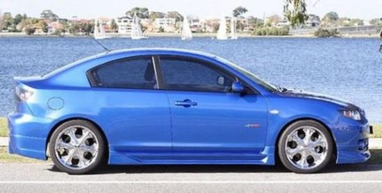 Mazda 3 2008 купе (концепт)