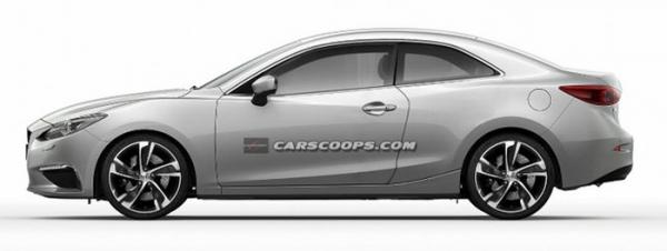 Mazda 3 2009 купе (концепт)