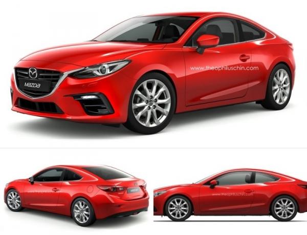 Mazda 3 купе: фанатский концепт